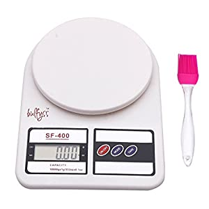 AndAlso Kitchen Scale Electronic Digital LCD Screen for Measuring Spice Food Vegetable