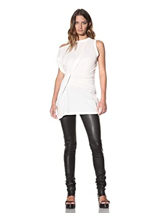 Ann Demeulemeester Women's Off-the-Shoulder Tunic (Off-White)