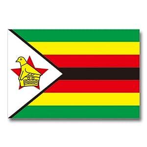 世界の国旗ポストカードシリーズ <アフリカ> ジンバブエ共和国 Flags of the world POST CARD