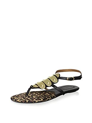 Corso Como Women's Delfim Sandal (Black Napa Soft)
