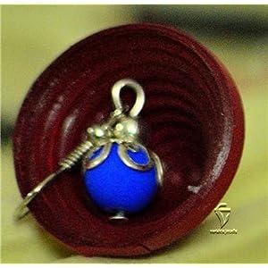 Varishta Jewells Blue Drops Earring