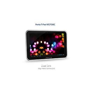 BSNL Penta T-Pad WS708C Tablet (7 inch, 4GB, Wi-Fi+3G Via Dongle), Silver