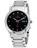 Maxima Attivo Analog Black Dial Men's Watch - 20988CMGI