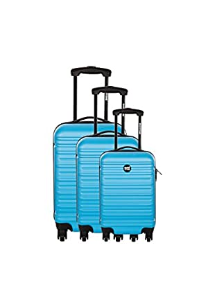 Bag Stone Set de 3 trolleys rígidos Diamond