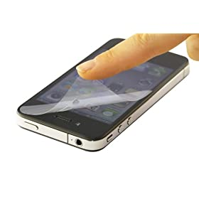 iPhone 4S/4 PRO GUARD (PHASE 2) hw AF Anti-FingerprintEwt / PGAF-IPH4)