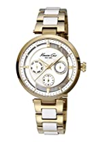 Kenneth Cole Transparency Analog Silver Dial Women's Watch - IKC4988