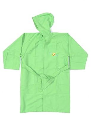 Drop & Roll Accappatoio Cappuccio Junior Microfibra (verde)