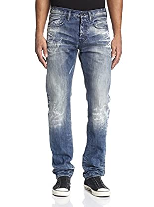 PRPS Goods & Co. Men's Splash Demon Slim Straight Jean