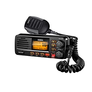 Uniden UM380BK Class D Full - Feature Fixed Mount VHF Marine Radio
