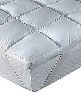 Pikolin Home Topper fibra 5cm Comfort Plus 100% cotone, traspirante. Trattamento anti-acari, batteri, muffa