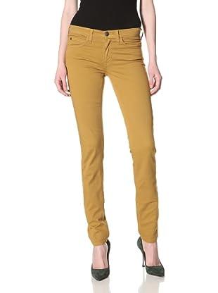 Milk Denim Women's Skinny Jean (Mustard)