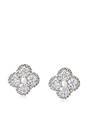 Little Miss Twin Stars Girls' Flower Stud Earrings