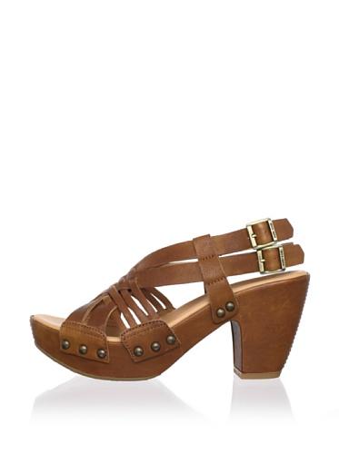 Kork-Ease Women's Dawn Crisscross Sandal (Tan)