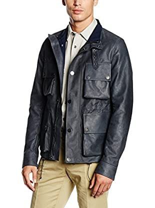 Belstaff Giacca Pelle Scotswood Bonded Flyweight