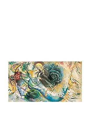 Artopweb Panel de Madera Kandinsky Improvvisazione Senza Titolo Multicolor