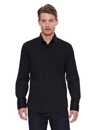 Salsa Camisa Monaco Slim (Negro)