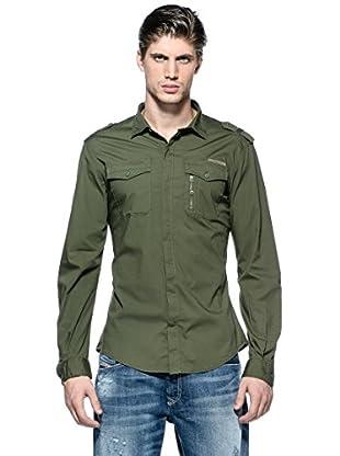Diesel Camisa Siranella-S (Verde)