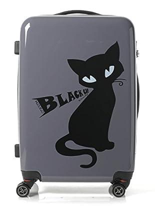 H.Due.O Trolley Nero Cat Grigio
