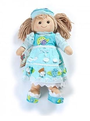 My Doll Stoffpuppe (honig/hellblau)