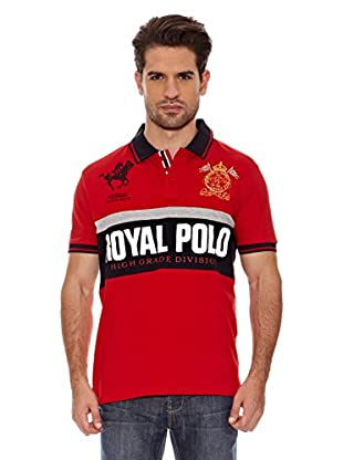 Geographical Norway Polo Manga Corta Kaxi Ss Men 402 (Rojo)