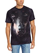 The Mountain Men's Doberman Face T-Shirt
