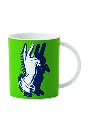 Royal Doulton Street Art Pure Evil Bunny Fingers 12-Oz. Mug