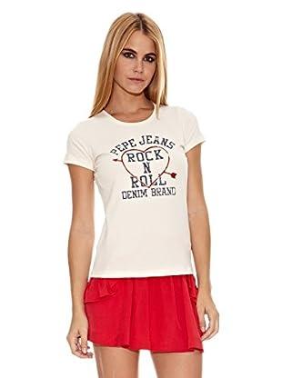 Pepe Jeans London Camiseta Lucia (Crudo)