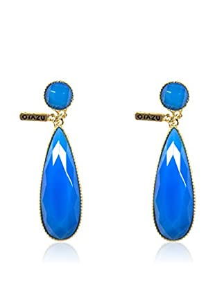 Otazu Pendientes  Azul
