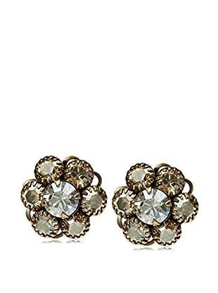 Liz Palacios Crystal Fly Eye Post Earrings