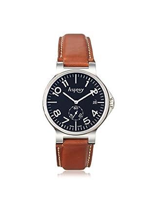 Asprey of London Men's 1013097-BR Brown/Black Stainless Steel Watch