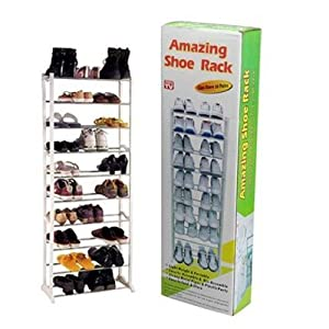Shopper52 Portable 10 Layers Shoes Rack