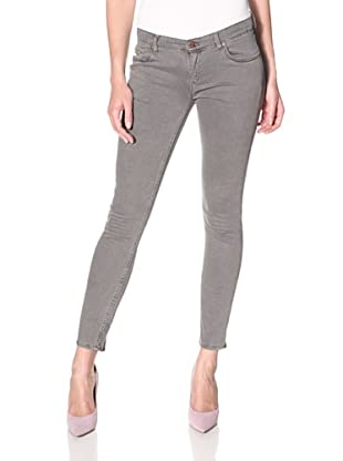 Rockstar Denim Women's Skinny Jean (Grey)