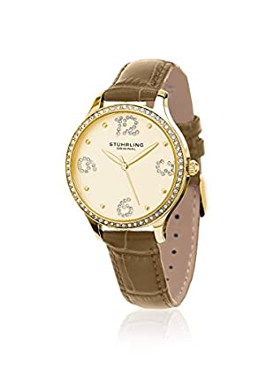 Stührling Women's Chic 560 Vogue Gold/Gold 316L Surgical Grade Stainless Steel Watch