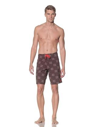 Rhythm Men's Flag On Swim Short