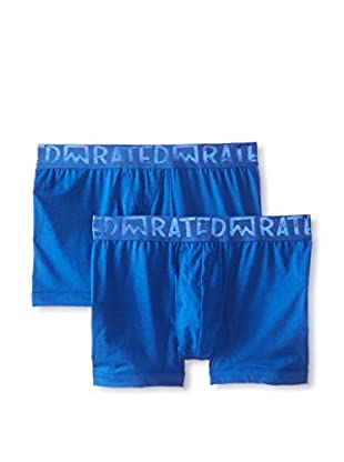 Rated M Men's Elementary Boxer Brief - 2 Pack