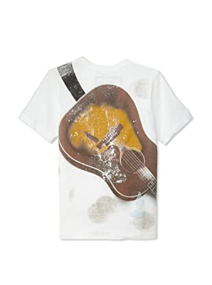 Warrior Poet Boys Guitar T-Shirt (White)