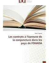 Les contrats à l'épreuve de la conjoncture dans les pays de l'OHADA