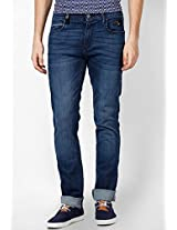 Diffused Indigo Regular Fit Jeans Wrangler