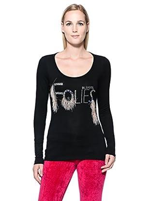 Blugirl Folies Camiseta (Negro)