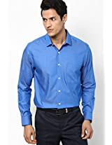 Light Blue Full Sleeve Formal Shirt Peter England
