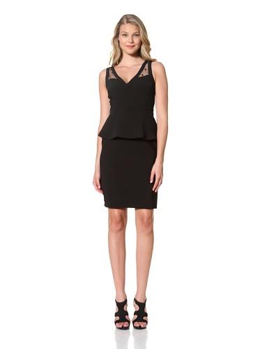 Eva Franco Women's Sheba V-Neck Dress with Peplum (Florence)