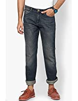 Blue Regular Fit Jeans (Millard) Wrangler