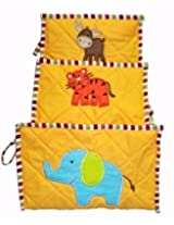Animals -Toiletry Kit set of 3