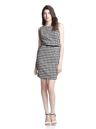 Single Women's Kelsey Printed Dress (Black/White)