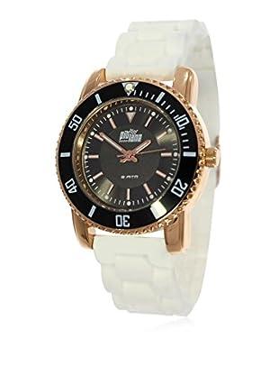 Pit Lane Uhr mit Miyota Uhrwerk Pl-3004-5 weiß 36 mm