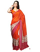 ewows Bhagalpuri Style E7502A Silk Saree