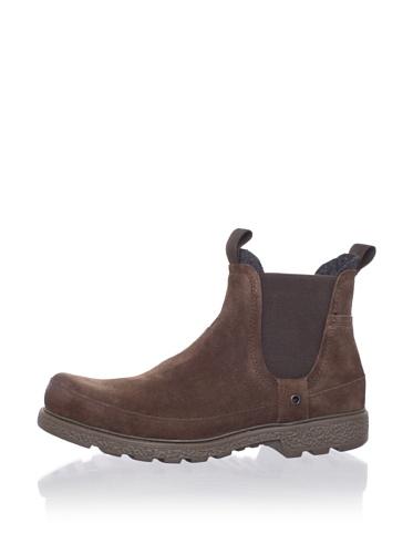 Robert Wayne Men's Grayson Boot (Brown Suede)