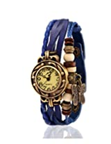 Yepme Women's Bracelet Watch - Cream/Blue