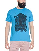 Zovi Cotton King Of The Spade River Blue Graphic T-shirt 114673070010S
