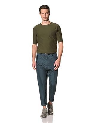 Camo Men's Piedicavallo Trousers (Petrol Green)